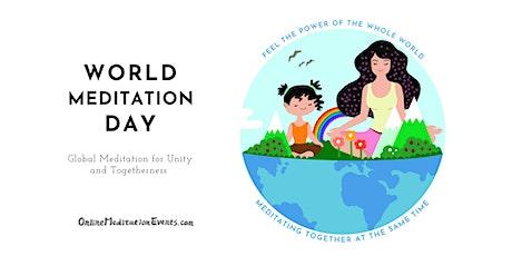 Global Online Meditation Retreat for World Meditation Day tickets