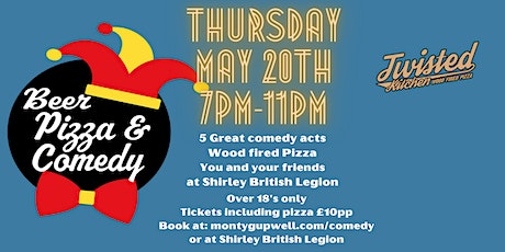 Beer, Pizza and Comedy. tickets