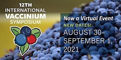 XII International Vaccinium Virtual Symposium tickets