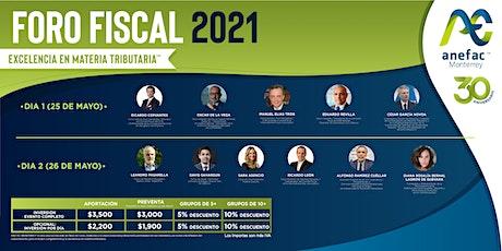 FORO FISCAL 2021 boletos