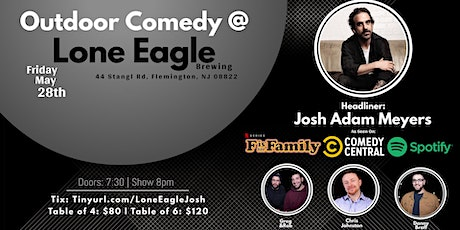 Outdoor Comedy at Lone Eagle Brewing with Josh Adam Meyers! tickets