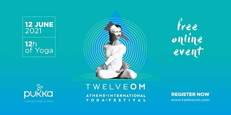 TWELVE OM ATHENS YOGA FESTIVAL 2021 ONLINE tickets