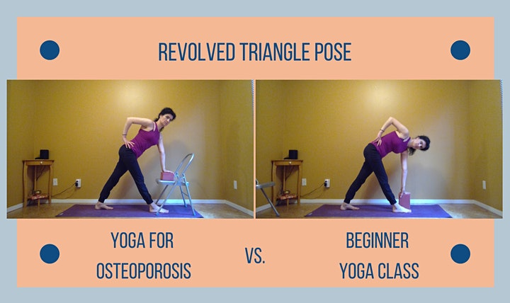 Yoga for Osteoporosis - June Class Live on Zoom [E] image