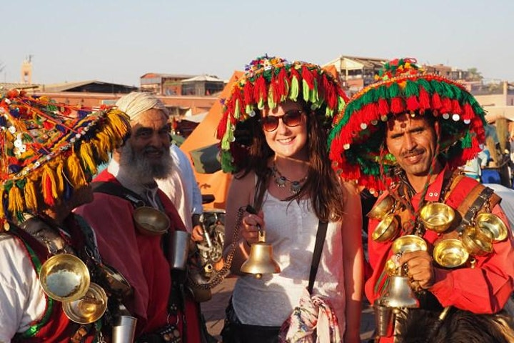Virtual Live Marrakech Horse Carriage Ride with Walking Tour in Medina image