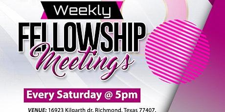 Fellowship Meeting tickets