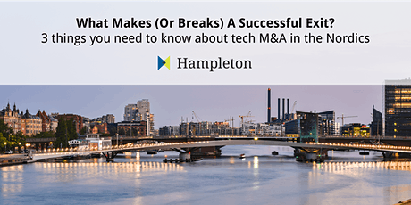 What Makes (Or Breaks) A Successful Exit? - Hampleton Partners Webinar tickets