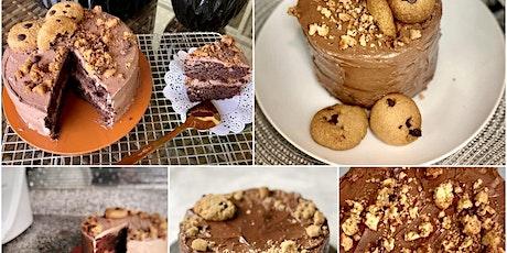 Pastel Chocolate Chocolate Chip Cookies  (keto) Taller online en Español tickets