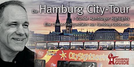 Virtuelle Stadtrundfahrt durch Hamburg Tickets