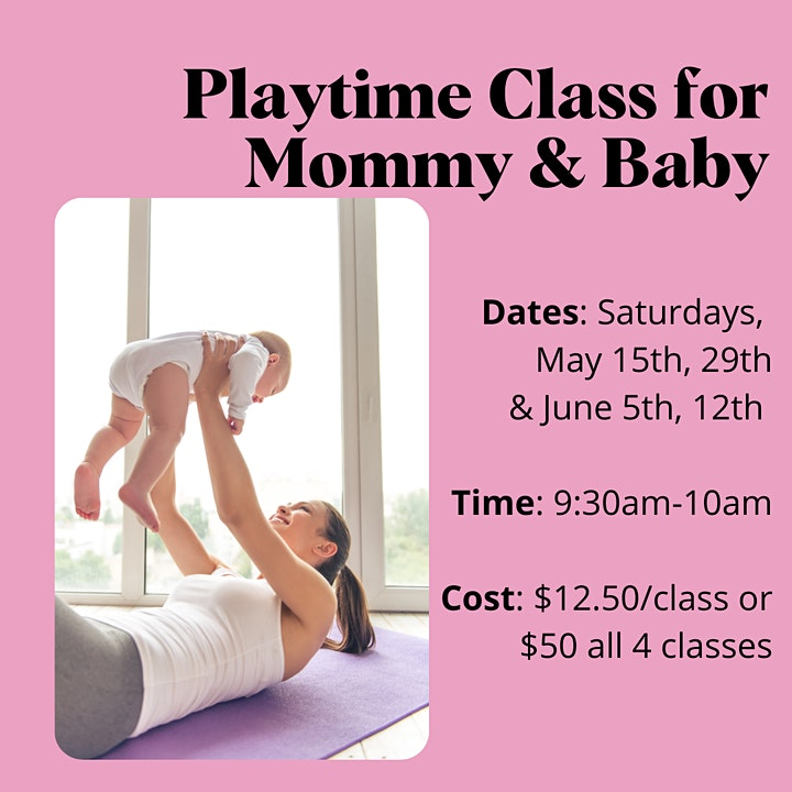 Mommy & Baby Playtime Classes image