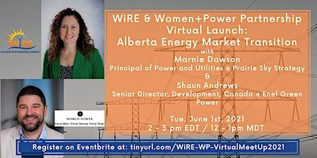 WiRE & Women+Power Joint Webinar: Alberta Energy Market Transition tickets