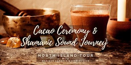 Cacao Ceremony & Shamanic Sound Journey - Otaki tickets