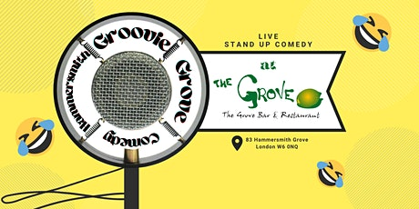 Hammersmith Groovie Grove Comedy tickets