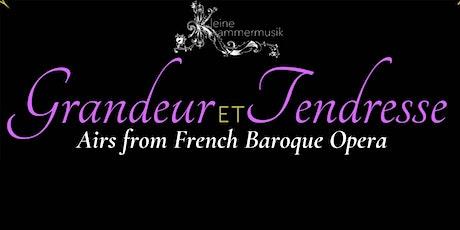 """Kleine Kammermusik """" Grandeur et Tendresse""""  (Sun, 3:00  PM ET 5/16/21) tickets"""