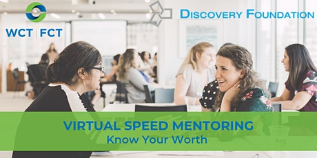 Virtual Speed Mentoring: Know Your Worth tickets