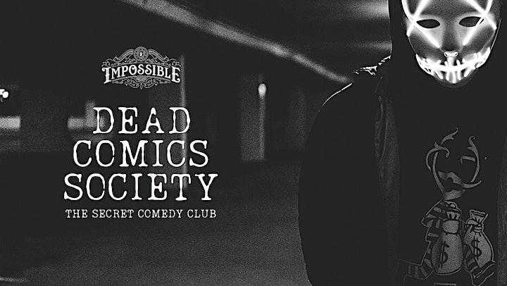 Dead Comics Society: The Secret Comedy Club image