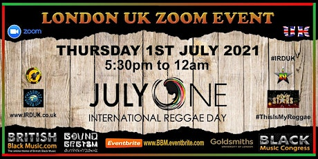 IRD UK - International Reggae Day London, UK 2021 tickets