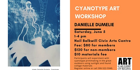 Cyanotypes with Danielle Dumelie tickets