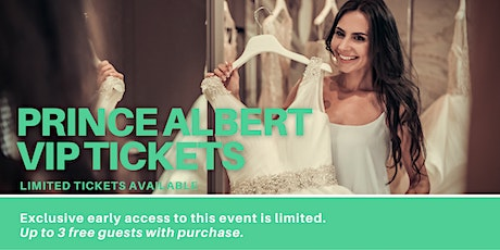 Prince Albert Pop Up Wedding Dress Sale VIP Early Access tickets