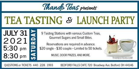 Tea Tasting and Launch Party tickets