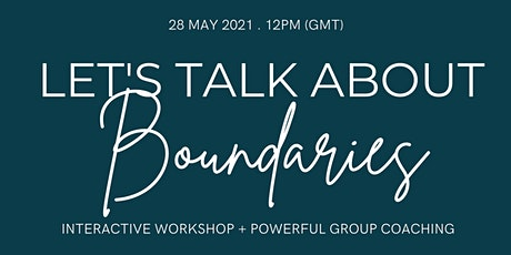 Let's Talk About Boundaries tickets