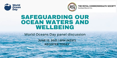 ONLINE PANEL: World Oceans Day - Pacific & New Zealand tickets