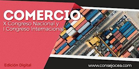 X Congreso Nacional y I Congreso Internacional de Comercio Exterior boletos