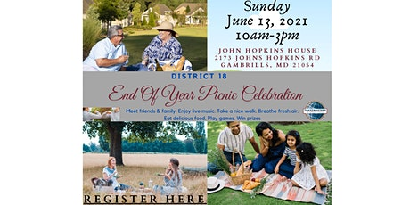 D18 End of Year Celebration Picnic tickets