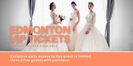 Edmonton Pop Up Wedding Dress Sale VIP Early Access tickets
