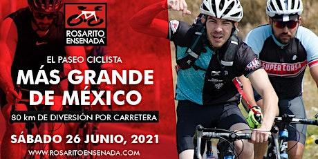 Paseo Ciclista ROSARITO ENSENADA 2021 boletos