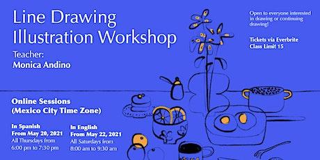 Line Drawing: Open Illustration Workshop tickets
