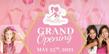 Pretty Princess Spa Boutique Grand Opening tickets