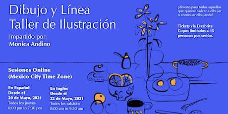 Dibujo y Línea: Taller Abierto de Ilustración entradas