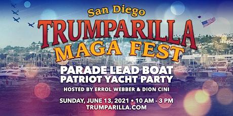 Trumparilla Parade Lead Boat Patriot Yacht Party tickets
