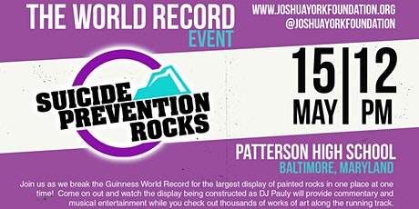 Suicide Prevention Rocks World Record Day! tickets