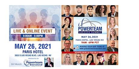 Powerteam Success Summit tickets
