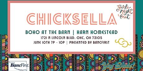 Chicksella Boho at the Barn tickets