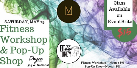 Fitness Workshop with Fit by Tone'y & JMO tickets