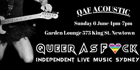 QAF Acoustic tickets