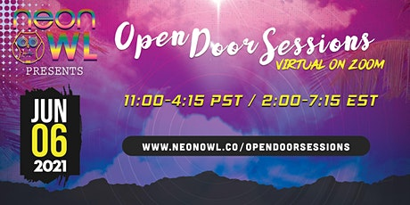 Neon Owl Presents: Open Door Sessions 06.06.21. - VIRTUAL ON ZOOM tickets