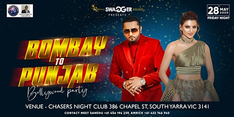 BOMBAY TO PUNJAB BOLLYWOOD PARTY tickets