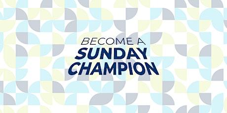 Bi-Weekly Sunday  Service Volunteers tickets