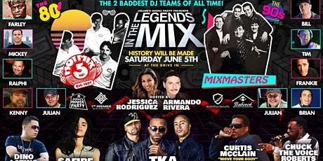 Julian's House Party @ The Drive-In (Legends in the Mix) tickets