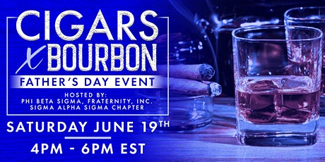 Cigars + Bourbon Father's Day Gift Box & Virtual Event tickets