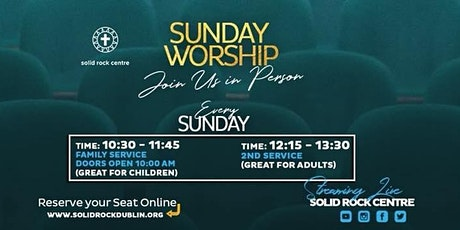SUNDAY IN-PERSON WORSHIP SERVICE tickets