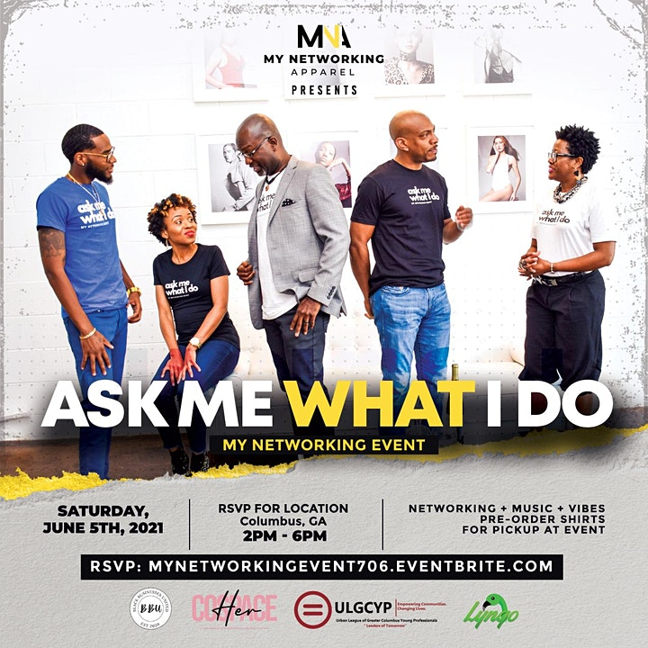 Ask Me What I Do | My Networking Event image