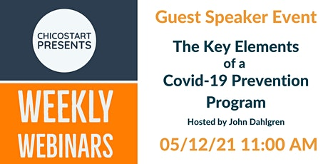 The Key Elements of a Covid-19 Prevention Program tickets