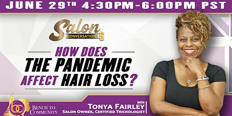 Salon Conversations Episode 6 with Tonya Fairley tickets