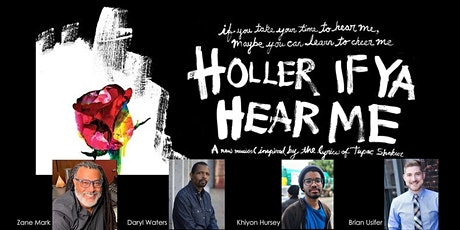 "ASMAC NYC: ""Holler If Ya Hear Me"" & Hip Hop in Musical Theatre Tickets"