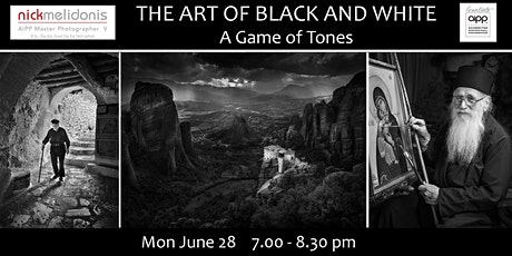 MASTERING THE ART OF BLACK AND WHITE PHOTOGRAPHY tickets