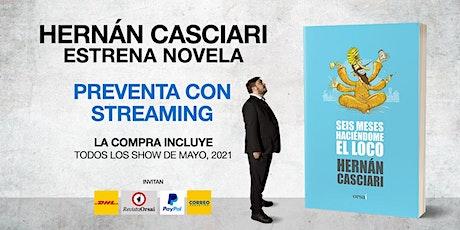 NUEVA NOVELA CASCIARI + SUSCRIPCIÓN MAYO: «Preventa con Streaming» (ARS) tickets